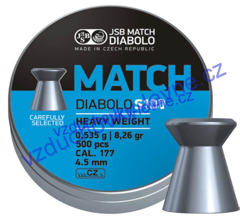 Diabolo JSB Match S100 500ks cal.4,52mm