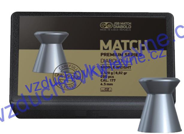 Diabolo JSB Premium Match Middle 200ks cal.4,5mm