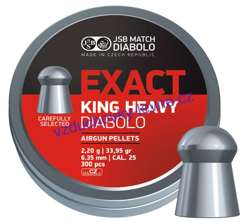 Diabolo JSB Exact King Heavy 150ks cal.6,35mm