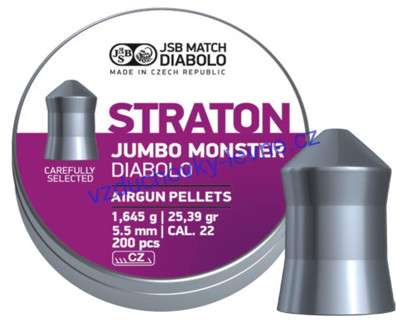 Diabolo JSB Straton Jumbo Monster 200ks cal.5,5mm