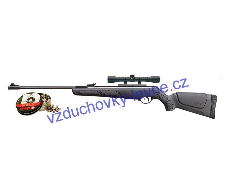 Vzduchovka Gamo Shadow DX cal 4,5mm Set