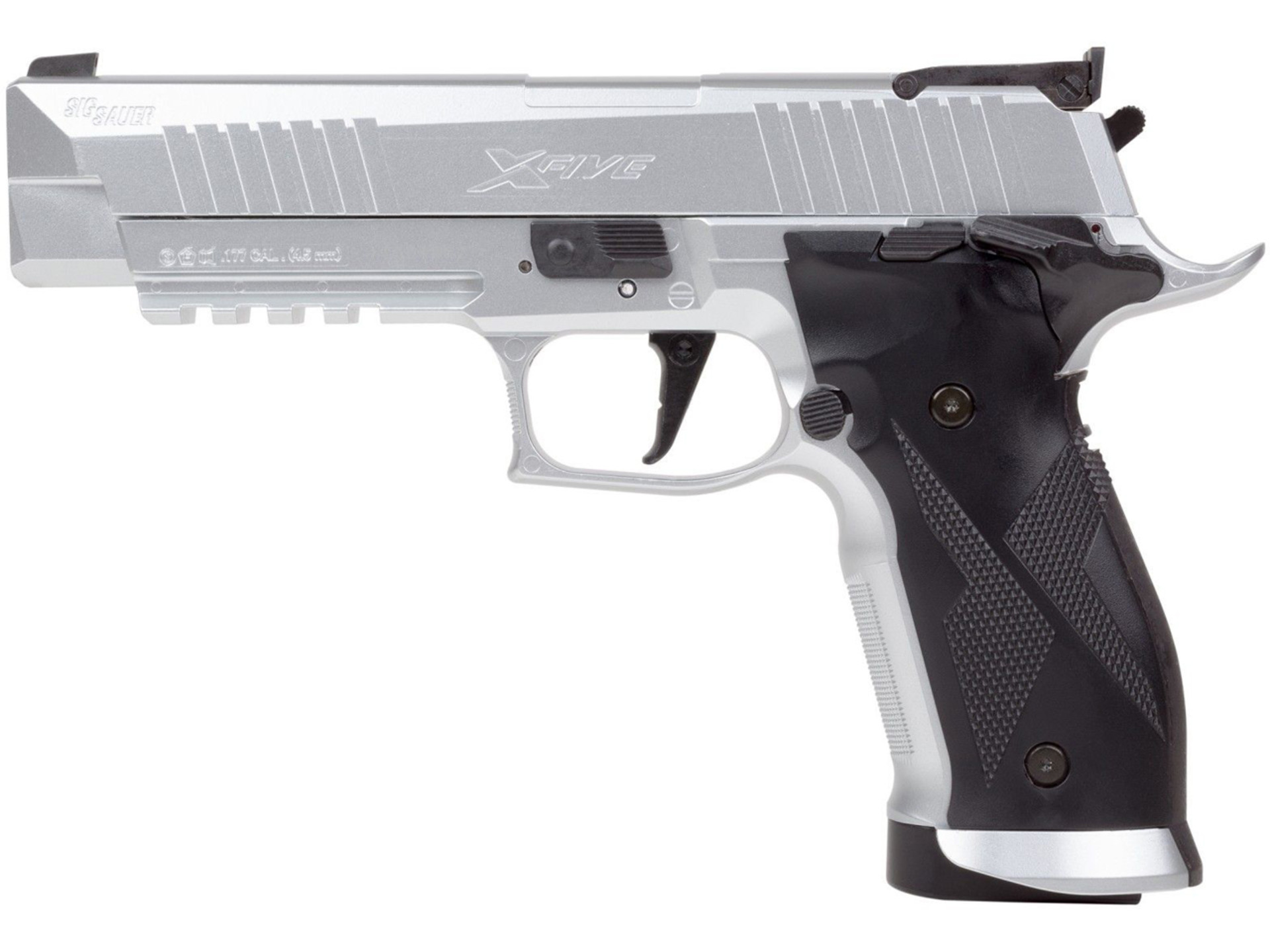 Vzduchová pistole Sig Sauer X-Five silver-cal.4,5mm