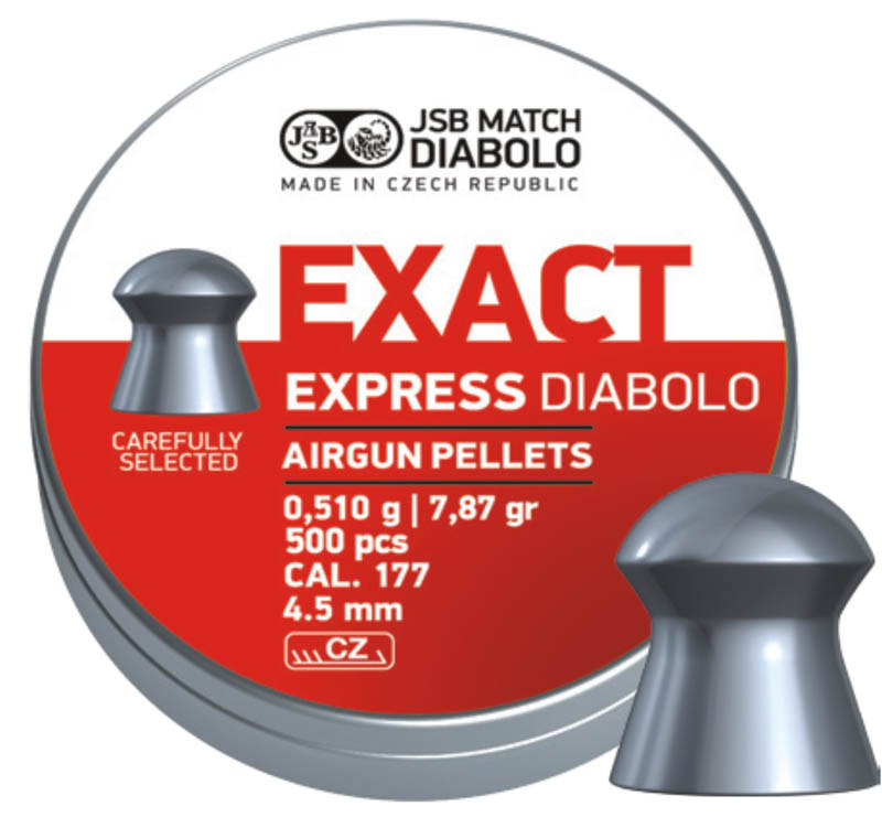 Diabolo JSB Exact Express 500ks cal.4,52mm