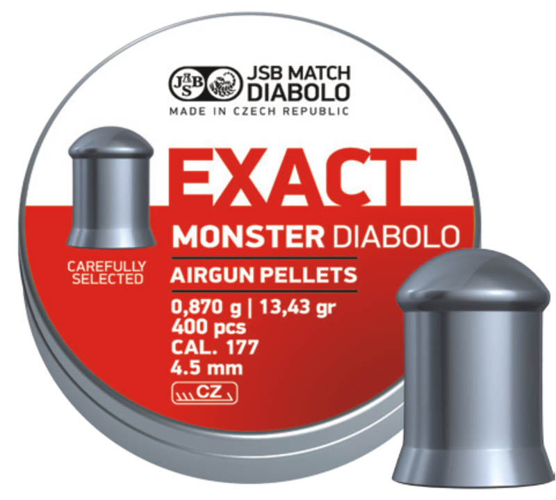 Diabolo JSB Exact Monster 400ks cal.4,52mm